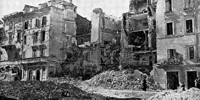 Città bombardata