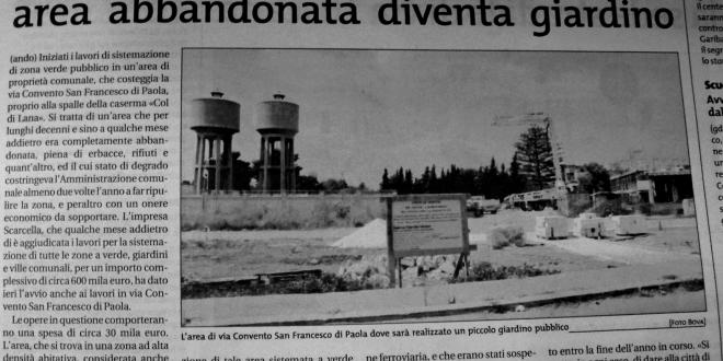 Giardino via Francesco di Paola GdS